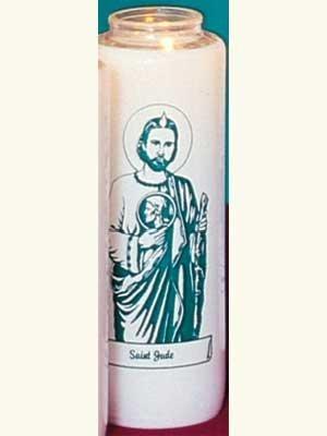 """Saint Jude"" Patron Saint Candles (12 Candles)-0"