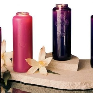 7-Day Glass Advent Candles-0