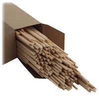Wood Lighting Tapers- thick sticks- 500/box-0