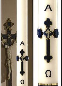 """Adoration"" Paschal Candle-0"