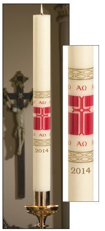 """Alleluia"" Paschal Candle-0"