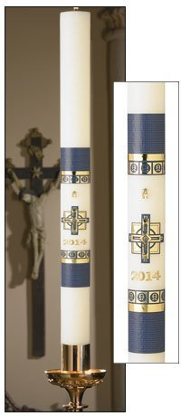 """Alpha Omega"" Paschal Candle-0"