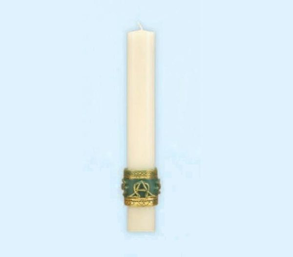 """Celtic Imperial"" Paschal Side Candles-0"