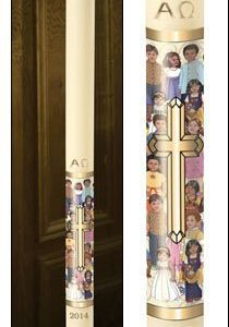 Children of the World Paschal Candle-0