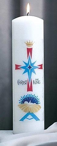 """Christ the King"" Christ Candle-0"