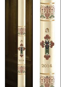 """Coronation"" Paschal Candle-0"