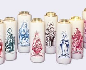 """Saint Peregrine"" Patron Saint Candle (12 Candles)-0"