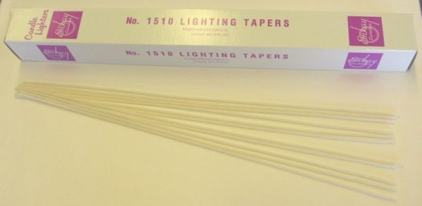 "Wax Lighting Tapers 17"" length - 100/box-0"