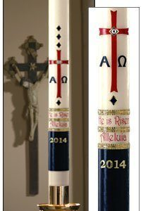 """Exalted"" Paschal Candle-0"