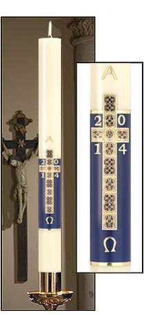 """""""Holy Cross"""" Paschal Candle-0"""