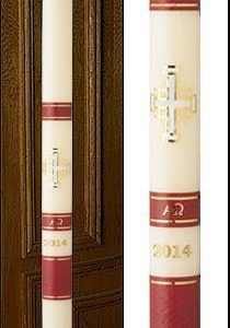 """Jerusalem"" Paschal Candle-0"