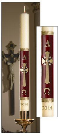 """Majesty"" Paschal Candle-0"