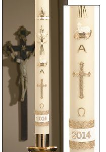 """""""Ornamented"""" Paschal Candle-0"""