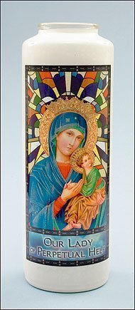 Our Lady of Perpetual Help Stained Glass Gleamlight-0