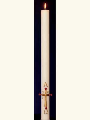 Simple Paschal Candle-0