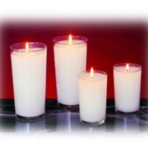 24-Hour Glass Votives - 72/case-0