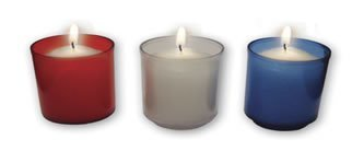 10-Hour Disposable Plastic Votive Candles - 200/case-0