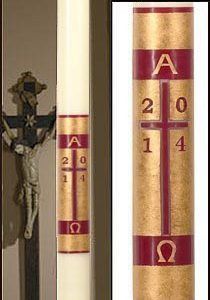 """Redemption"" Paschal Candle-0"