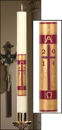 """""""Redemption"""" Paschal Candle-0"""