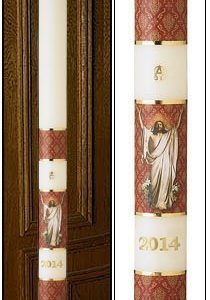 """Risen Christ"" Paschal Candle-0"