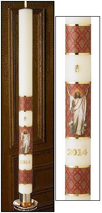 """Risen Christ"" Paschal Candle-0"