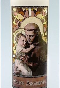 Saint Anthony Stained Glass Gleamlight-0