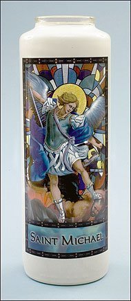 Saint Michael Stained Glass Gleamlight-0