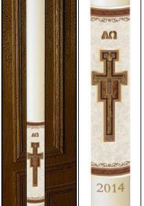 """San Damiano"" Paschal Candle-0"