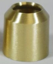 "Brass Candle Follower 11/16"" to 4""-0"