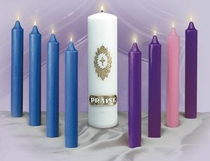 Stearic Advent Candles-0