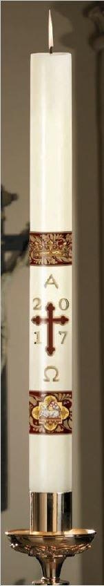 """Agnus Dei"" Paschal Candle-0"