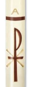 """Chi Rho"" Paschal Candle-0"