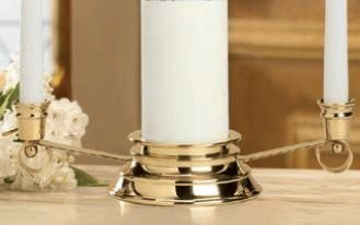 Curved Silhouette Unity Candleholders-0