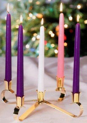 The Everlasting Light Advent Wreath-0