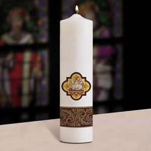 Christ Candle, Pillar, Agnus Dei-0